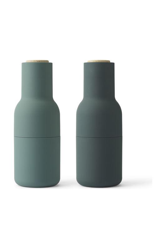 menu pfeffer salzm hle bottle grinder kunststoff keramik dunkelgr n 4418479. Black Bedroom Furniture Sets. Home Design Ideas