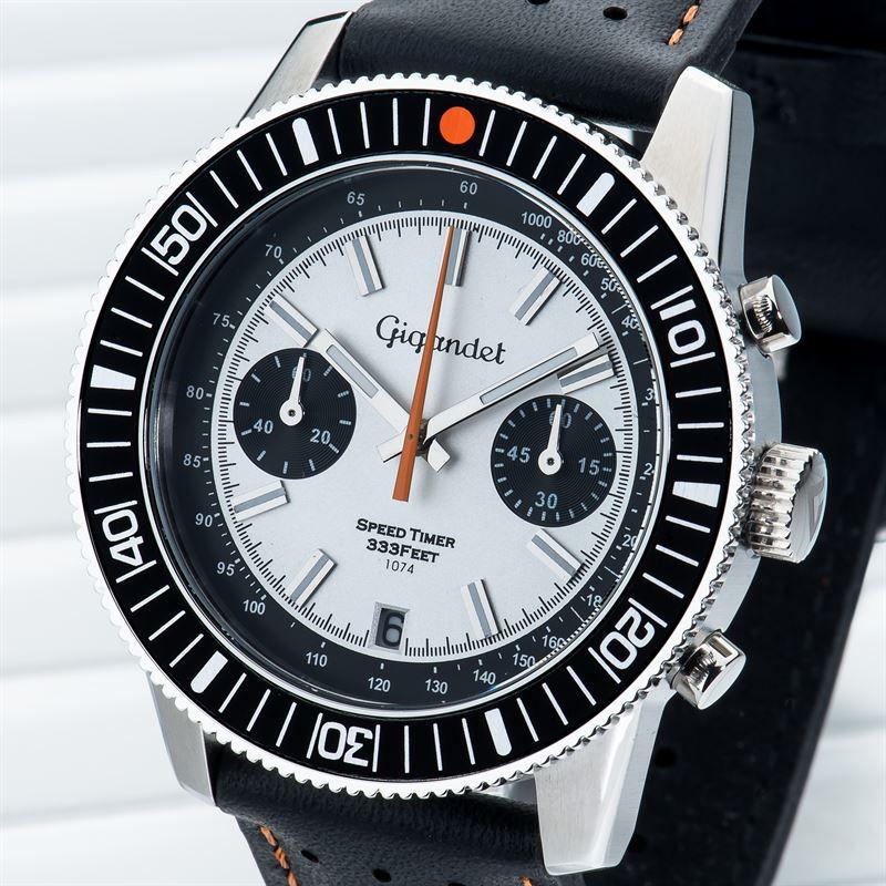 Speed Mit G7 Timer 006 Gigandet Datumsanzeige Chronograph Lederarmband Herren Zu Details CeWdoBrx