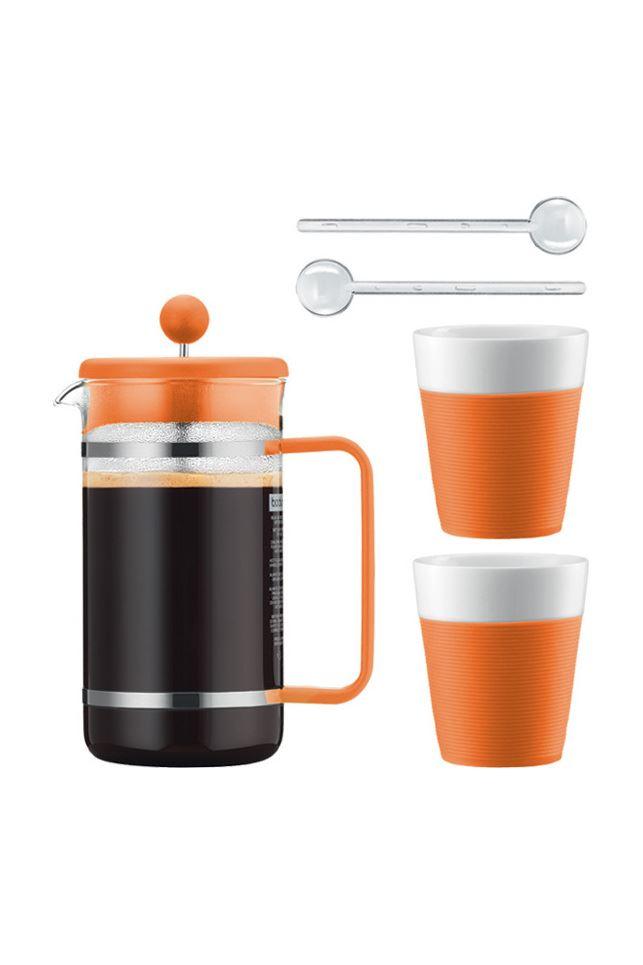 bodum kaffeeset bistro 6 teilig kaffeebereiter tassen l ffel ak1508 xy y15 8 ebay. Black Bedroom Furniture Sets. Home Design Ideas