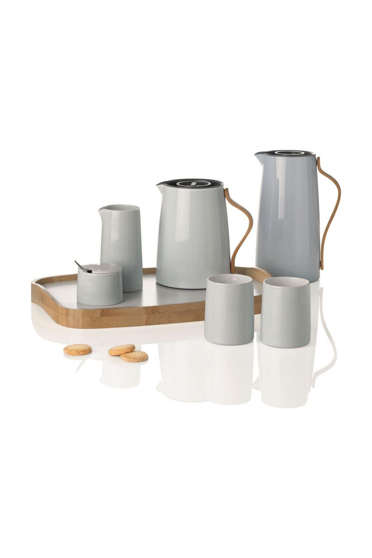 stelton serviertablett emma 13x43cm bambus x 202 ebay. Black Bedroom Furniture Sets. Home Design Ideas