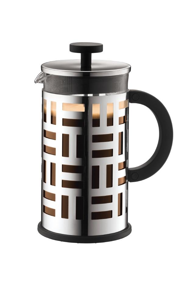 bodum eileen kaffeebereiter french press 8 tassen 1 0 l silber 11195 16 ebay. Black Bedroom Furniture Sets. Home Design Ideas